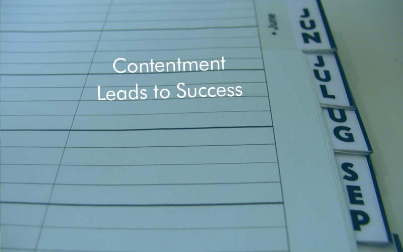 contentment success