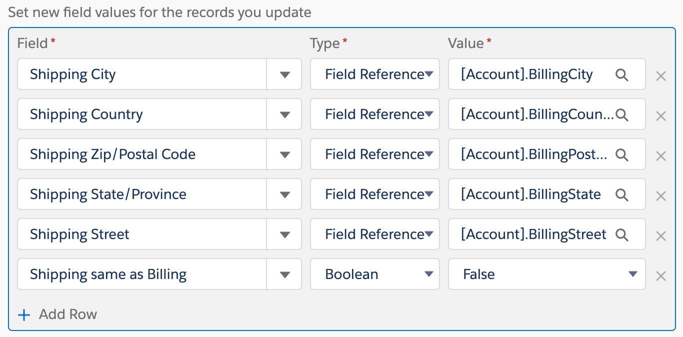 PB-Assigning Field Values