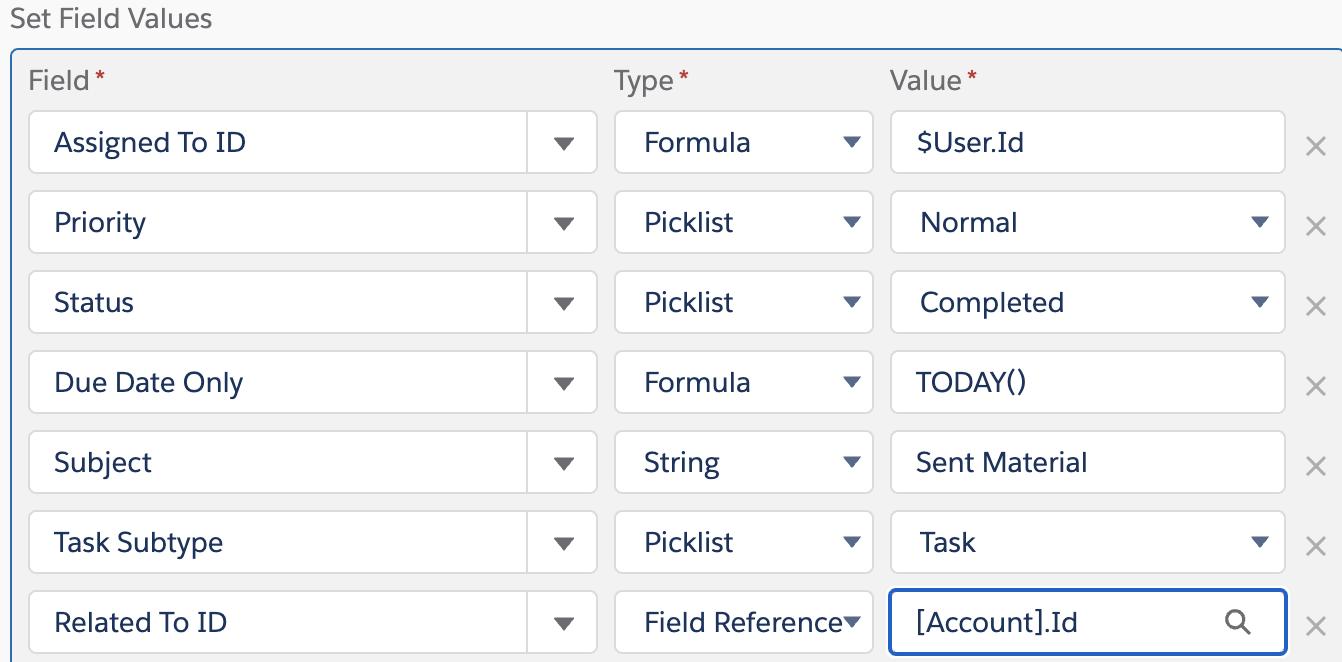 bp-Field Values