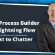 from Process Builder to Lightning Flow Post to Chatter